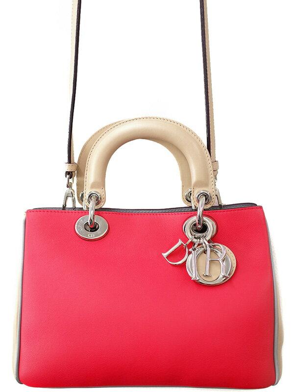 【Dior】クリスチャンディオール『ディオリッシモ(S)』M0915PSTQ レディース 2WAYバッグ 1週間保証【中古】