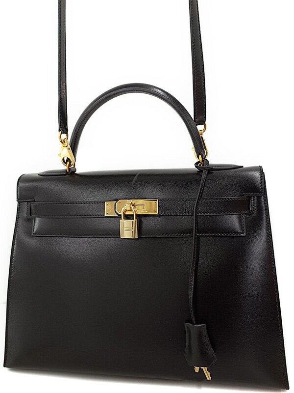 【HERMES】【ゴールド金具】エルメス『ケリー32 外縫い』S刻印 1989年製 レディース 2WAYバッグ 1週間保証【中古】