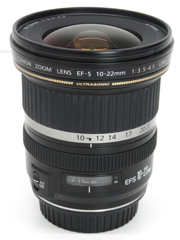 キヤノン『EF-S10-22mm F3.5-4.5 USM』EF-S10-22U 16-35mm相当 デジタル一眼レフカメラ用レンズ 1週間保証【中古】