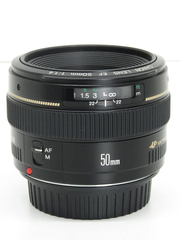 キヤノン『EF50mm F1.4 USM』EF5014U レンズ 1週間保証【中古】