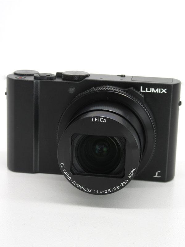 【Panasonic】パナソニック『LUMIX(ルミックス) LX9』DMC-LX9-K ブラック 2010万画素 広角24mm 光学3倍 4K動画 Wi-Fi コンパクトデジタルカメラ【中古】