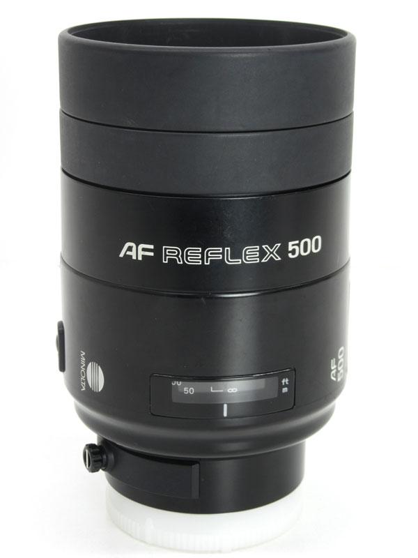 ミノルタ『AF500F8レフレックス』 Aマウント オートフォーカス 望遠 ミラーレンズ デジタル一眼カメラ用レンズ 1週間保証【中古】