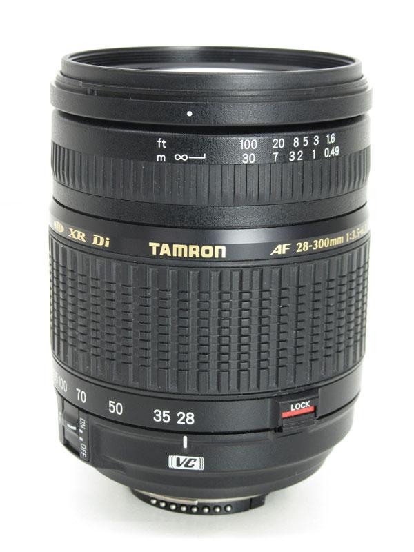 タムロン『AF 28-300mm F/3.5-6.3 XR Di LD Aspherical [IF] MACRO』A061N ニコン 43-465mm相当 APS-Cデジタル一眼レフカメラ用レンズ 1週間保証【中古】