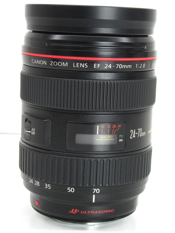 キヤノン『EF24-70mm F2.8L USM』EF24-70L 非球面 標準ズーム 一眼レフカメラ用レンズ 1週間保証【中古】