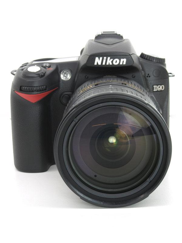 ニコン『D90 AF-S DX 18-200G VR II レンズキット』1230万画素 AF-S DX NIKKOR 18-200mm f/3.5-5.6G ED VR II APS-C デジタル一眼レフカメラ【中古】