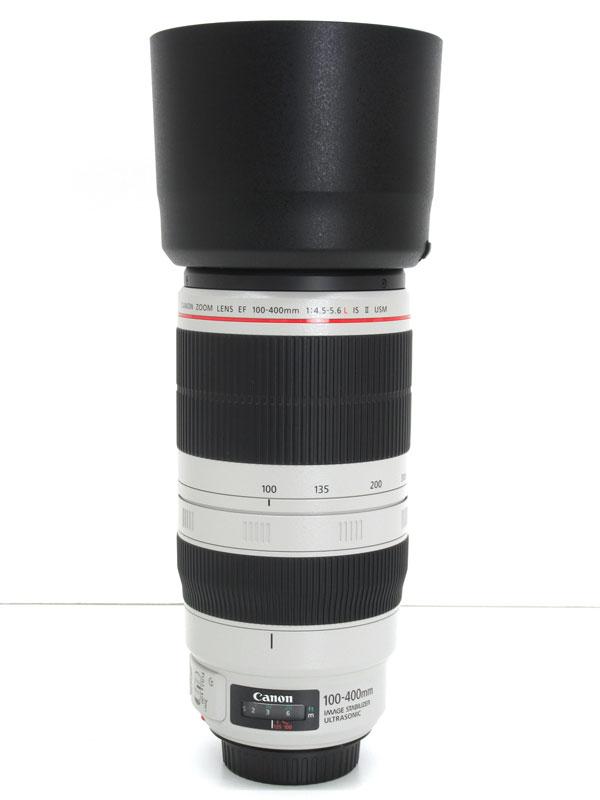 【Canon】キヤノン『EF100-400mm F4.5-5.6L IS II USM』EF100-400LIS2 望遠ズーム 一眼レフカメラ用レンズ 1週間保証【中古】
