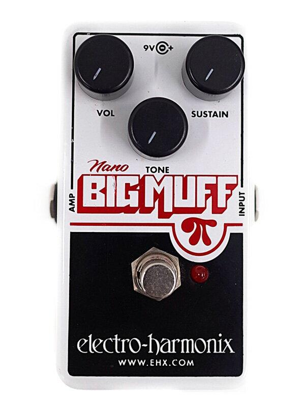 【electro-harmonix】エレクトロハーモニックス『ディストーション』nano BIG MUFF コンパクトエフェクター 1週間保証【中古】