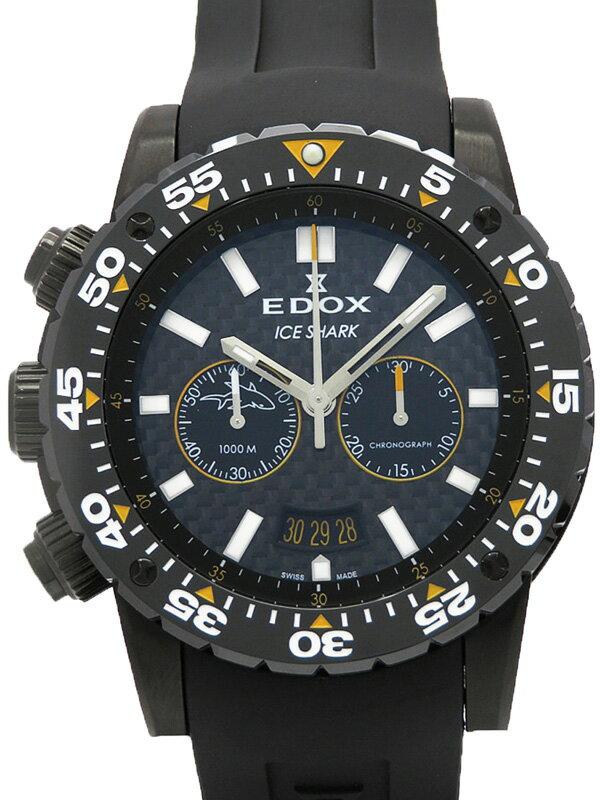 【EDOX】【1000本限定】エドックス『アイスシャーク』10301 37N NOR メンズ クォーツ 1ヶ月保証【中古】
