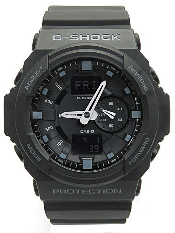 【CASIO】【G-SHOCK】【'16年購入】カシオ『Gショック デジアナ』GA-150-1AJF メンズ クォーツ 1週間保証【中古】
