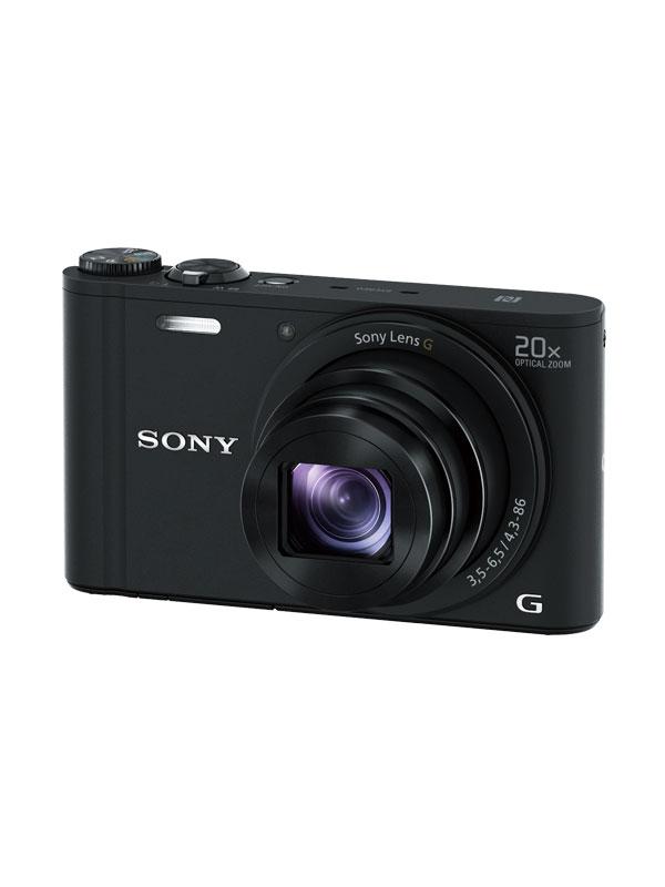 【SONY】ソニー『Cyber-shot(サイバーショット)』DSC-WX350(B) ブラック 光学20倍 Wi-Fi デジタルカメラ【新品】