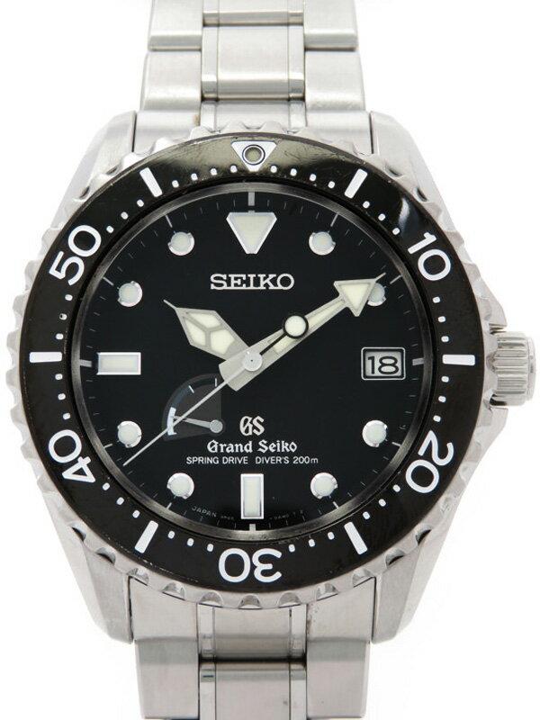 【SEIKO】セイコー『グランドセイコー ダイバーズ』SBGA029 メンズ スプリングドライブ 3ヶ月保証【中古】