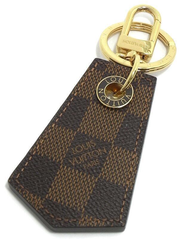 【Louis Vuitton】【バッグチャーム】ルイヴィトン『キーホルダー アンシャッペ』M67917 キーリング 1週間保証【中古】