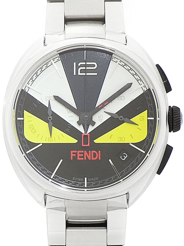 【FENDI】フェンディ『モーメント フェンディ バッグバグズ』ボーイズ クォーツ 1ヶ月保証【中古】