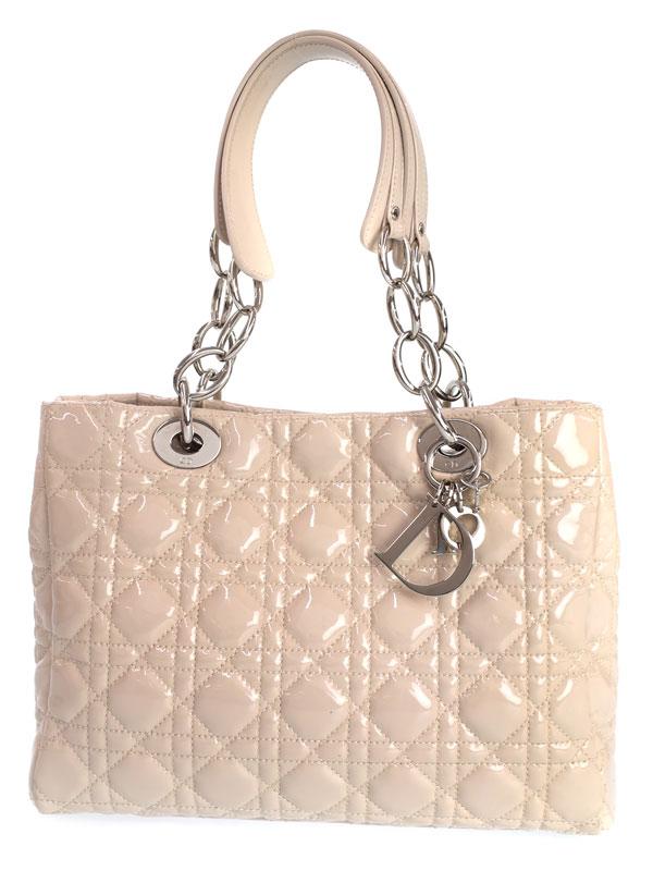 【Dior】クリスチャンディオール『カナージュ チェーントートバッグ』M0955 レディース 1週間保証【中古】