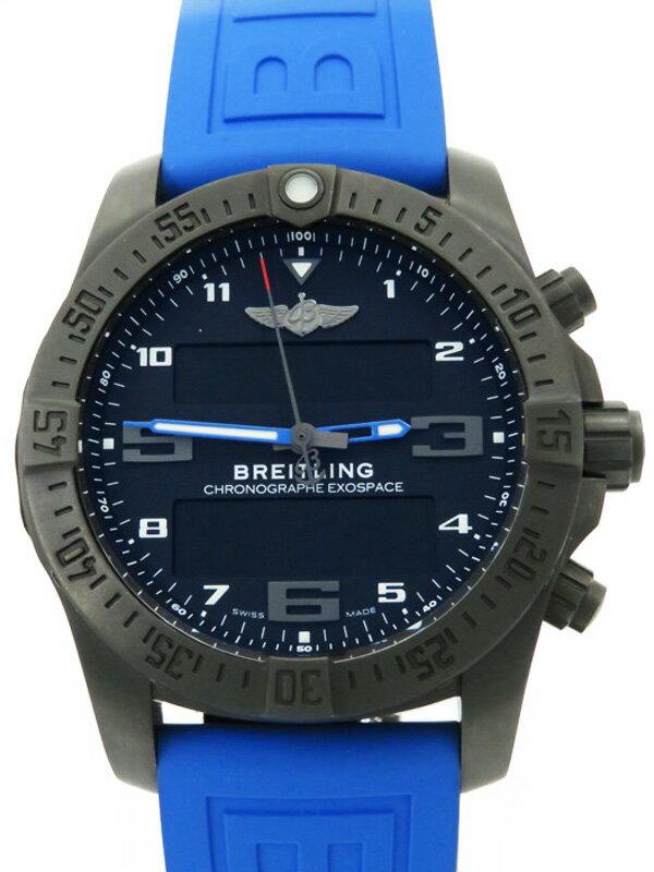 【BREITLING】【スマートウォッチ・コネクテッドウォッチ】ブライトリング『エクゾスペース B55 ナイトミッション』VB5510 腕時計型端末 3ヶ月保証【中古】