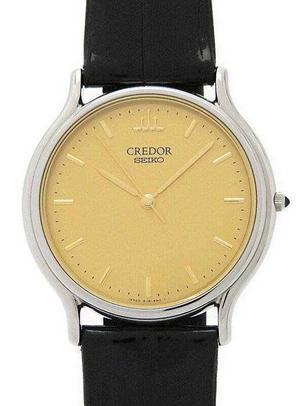 【SEIKO】【'16年購入】セイコー『クレドール シグノ』GCAR051 メンズ クォーツ 1週間保証【中古】