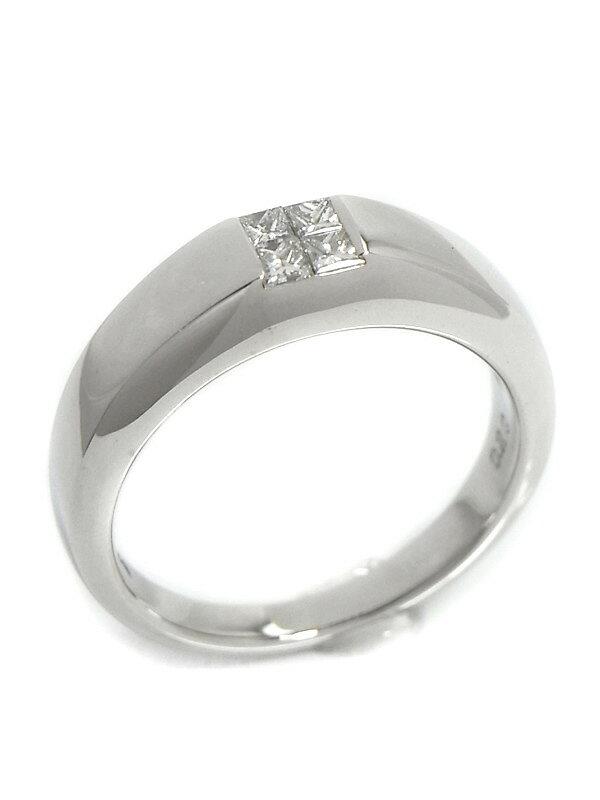 【TASAKI】【仕上済】タサキ『K18WGリング ダイヤモンド0.20ct』12号 1週間保証【中古】