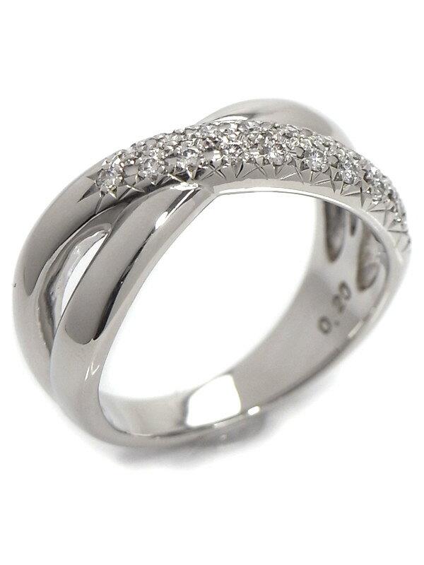 【TASAKI】【仕上済】タサキ『PT900リング ダイヤモンド0.20ct』11号 1週間保証【中古】