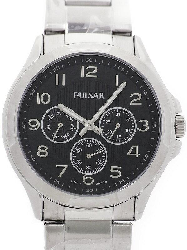 【SEIKO】【PULSAR】セイコー『パルサー』PP6207 メンズ クォーツ 1週間保証【中古】