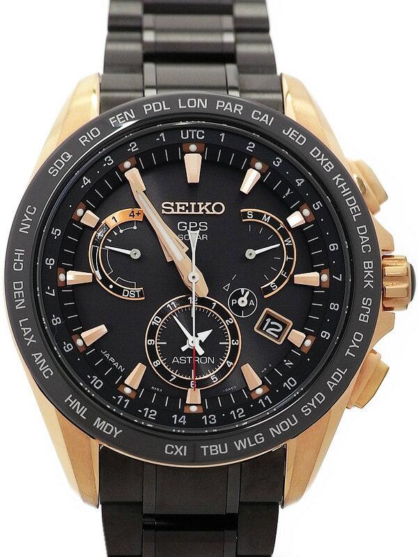【SEIKO】【'16年購入】セイコー『アストロン』SBXB055 メンズ ソーラーGPS 3ヶ月保証【中古】
