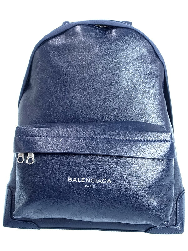 【BALENCIAGA】バレンシアガ『レザーバックパック』409010 レディース 1週間保証【中古】