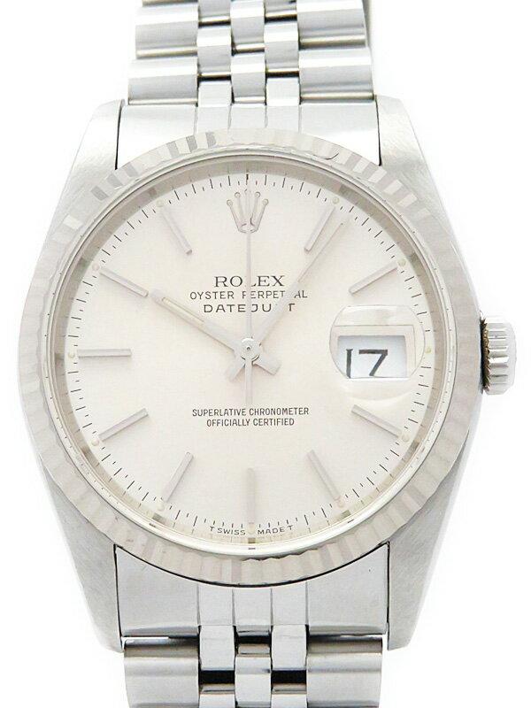【ROLEX】【OH済】ロレックス『デイトジャスト』16234 X番'91年頃製 メンズ 自動巻き 12ヶ月保証【中古】