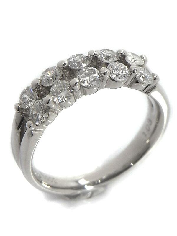 【仕上済】セレクトジュエリー『PT900リング ダイヤモンド1.03ct』12号 1週間保証【中古】
