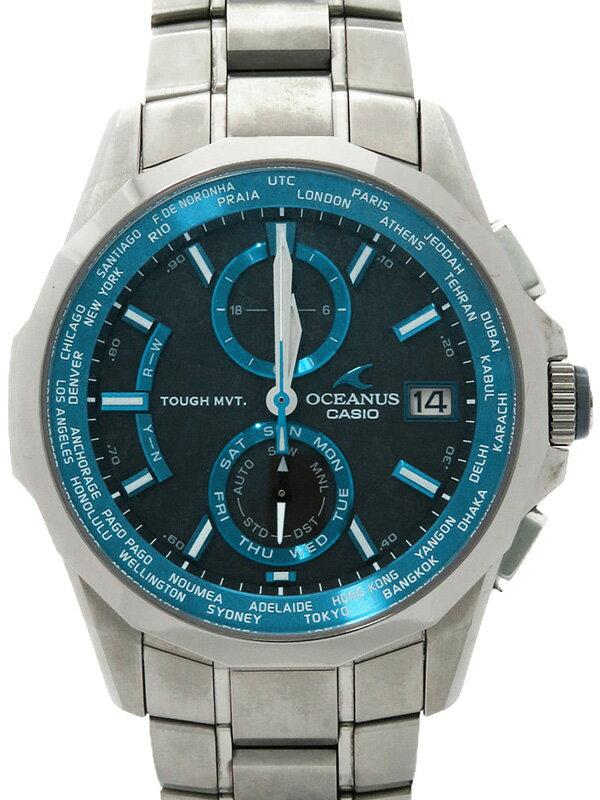 【CASIO】【OCEANUS】カシオ『オシアナス』OCW-S2000-1AJF メンズ ソーラー電波クォーツ 1ヶ月保証【中古】