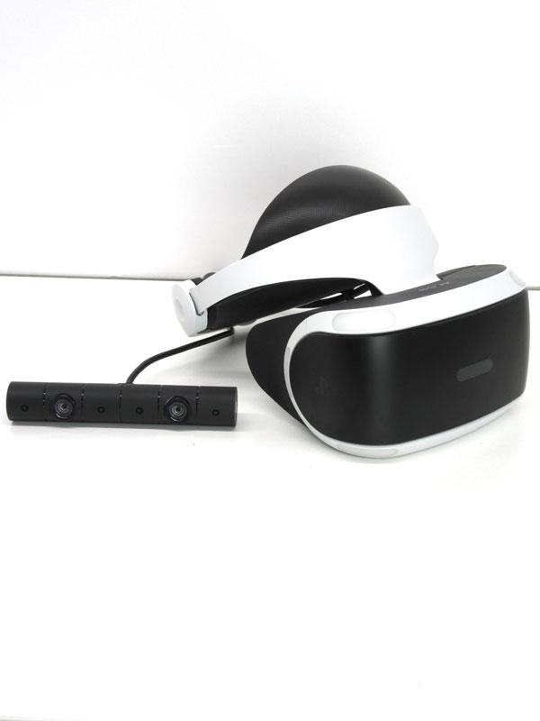 ソニー『PlayStation VR PlayStation Camera同梱版』CUHJ-16001 CUH-ZEY2J PSVR プレステ4周辺機器【中古】