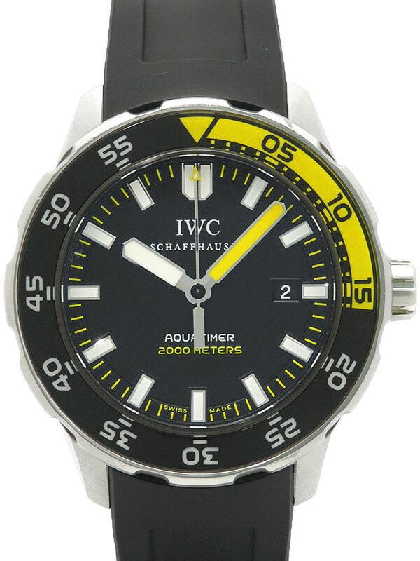 【IWC】インターナショナルウォッチカンパニー『アクアタイマー オートマチック 2000』IW356810 メンズ 自動巻き 6ヶ月保証【中古】
