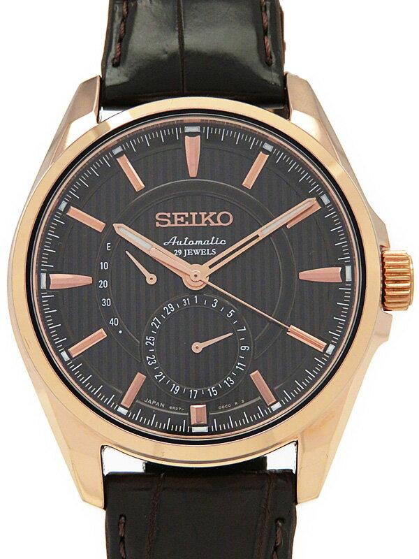 【SEIKO】【裏スケ】セイコー『プレサージュ』SARW010 メンズ 自動巻き 1週間保証【中古】