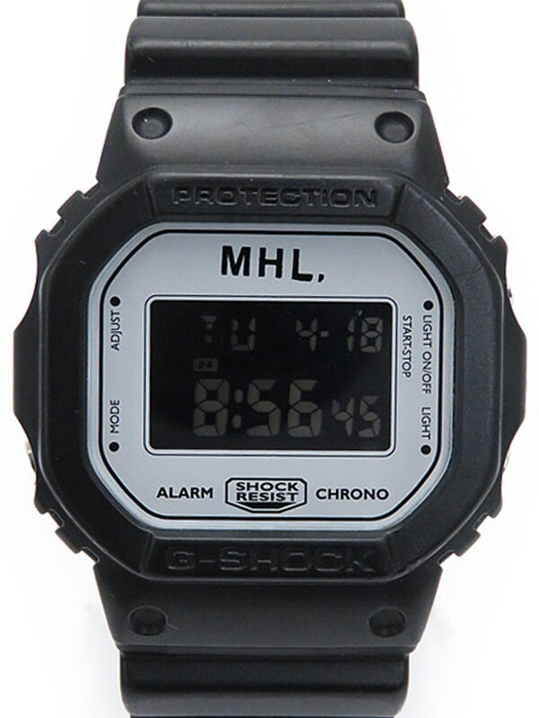 【CASIO】【G-SHOCK×MHL.】カシオ『Gショック MHL.コラボモデル』DW-5600VT ボーイズ クォーツ 1週間保証【中古】