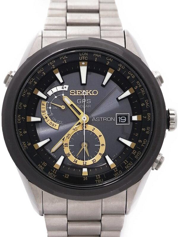 【SEIKO】セイコー『アストロン』SBXA005 メンズ ソーラーGPS 1ヶ月保証【中古】
