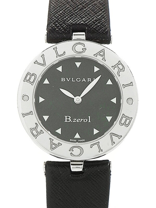 【BVLGARI】【電池交換済】ブルガリ『B-zero1 ビーゼロワン』BZ30S レディース クォーツ 1ヶ月保証【中古】