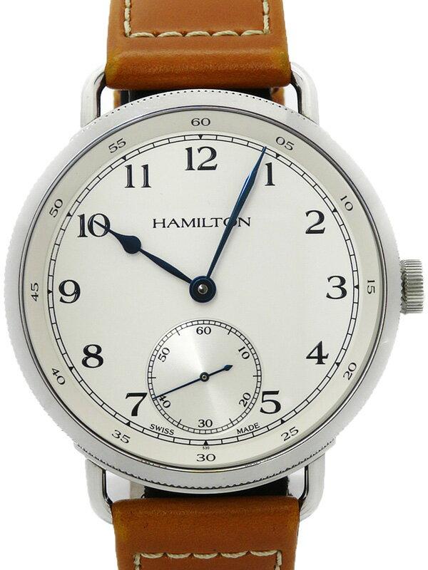 【HAMILTON】【120周年記念1892本限定】ハミルトン『カーキ ネイビー パイオニア』H78719553 メンズ 手巻き 3ヶ月保証【中古】