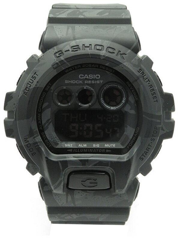 【CASIO】【G-SHOCK】【美品】カシオ『Gショック カモフラージュシリーズ』GD-X6900MC-1JR メンズ クォーツ 1週間保証【中古】