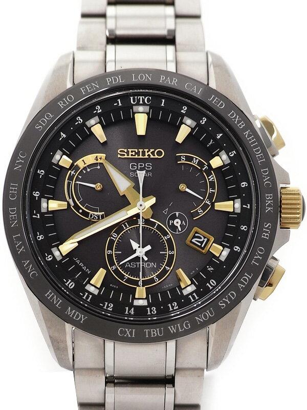 【SEIKO】【美品】セイコー『アストロン』SBXB073 メンズ ソーラーGPS 3ヶ月保証【中古】