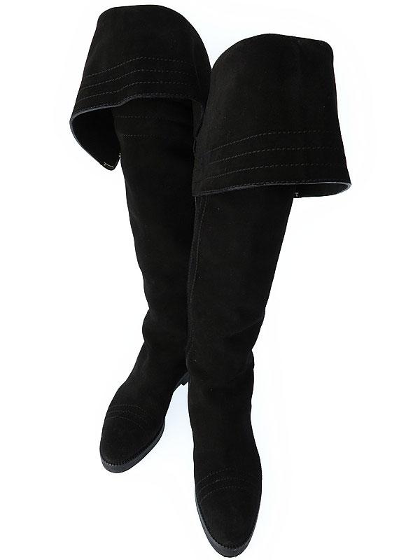 【LOUIS VUITTON】ルイヴィトン『ロングブーツ size 35 1/2』レディース 1週間保証【中古】