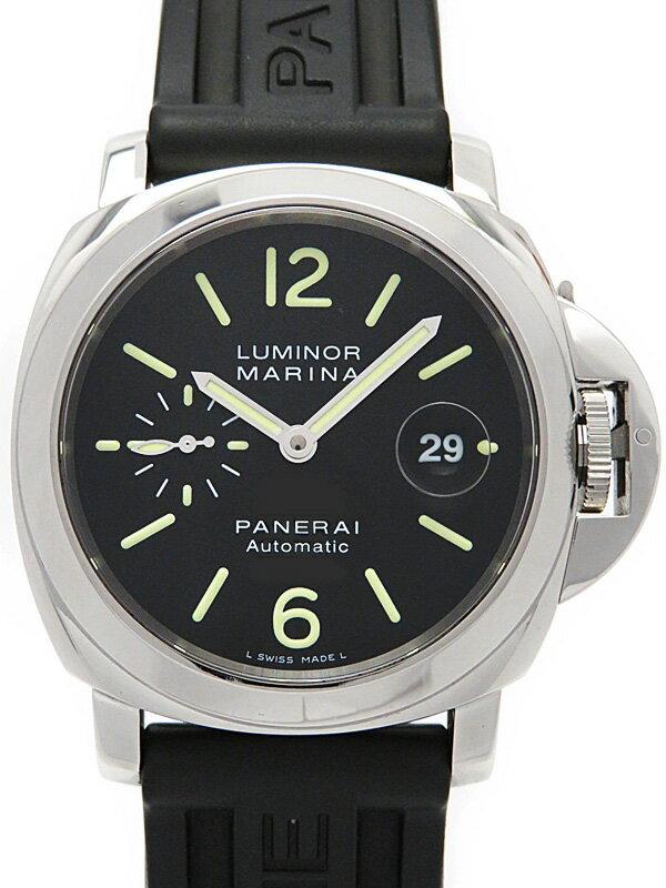 【PANERAI】パネライ『ルミノールマリーナ 44mm』PAM00104 L番'09年製 メンズ 自動巻き 6ヶ月保証【中古】