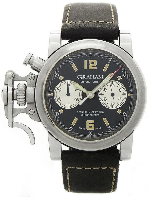 【GRAHAM】グラハム『クロノファイター』2CFAS メンズ 自動巻き 3ヶ月保証【中古】