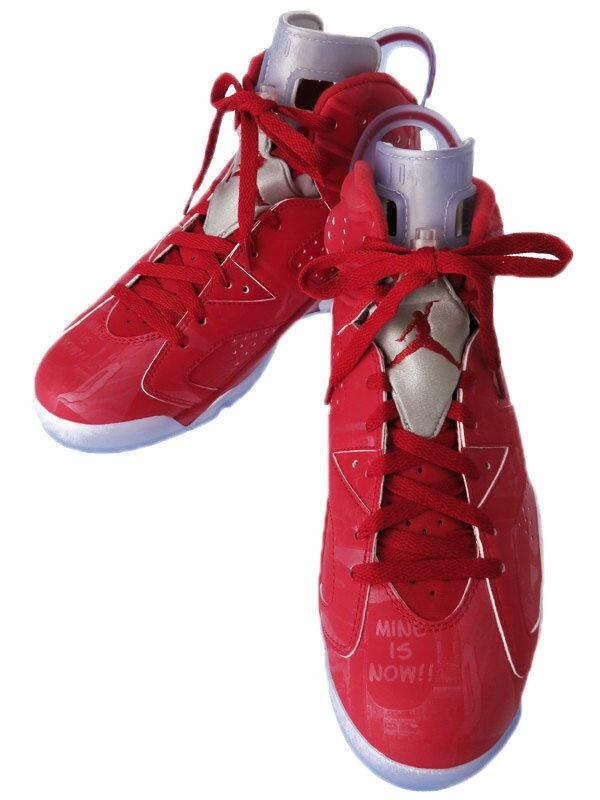 【NIKE】【AIR JORDAN 6 RETRO×SLAM DUNK】ナイキ『スラムダンク エアジョーダン 6 レトロ size28cm』717302-600 メンズ バスケットボールシューズ【中古】