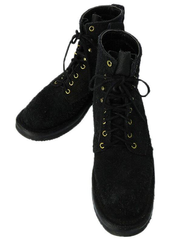 【Grizzly Boots】【BLACK BEAR 】グリズリーブーツ『ブラックベアー レースアップブーツ size8 1/2』メンズ 1週間保証【中古】