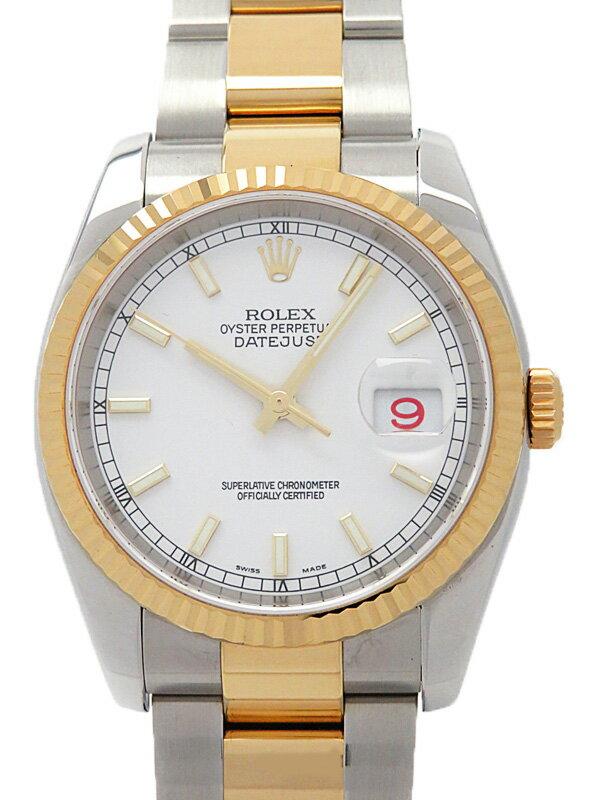 【ROLEX】ロレックス『デイトジャスト』116233 F番'04年頃製 メンズ 自動巻き 12ヶ月保証【中古】