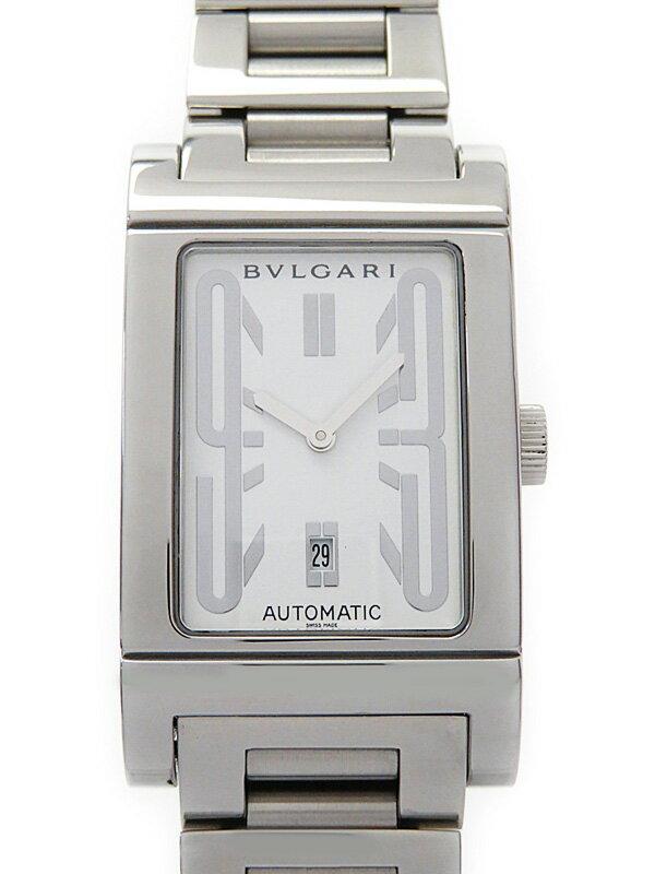 【BVLGARI】【内部点検済】ブルガリ『レッタンゴロ』RT45S メンズ 自動巻き 1ヶ月保証【中古】