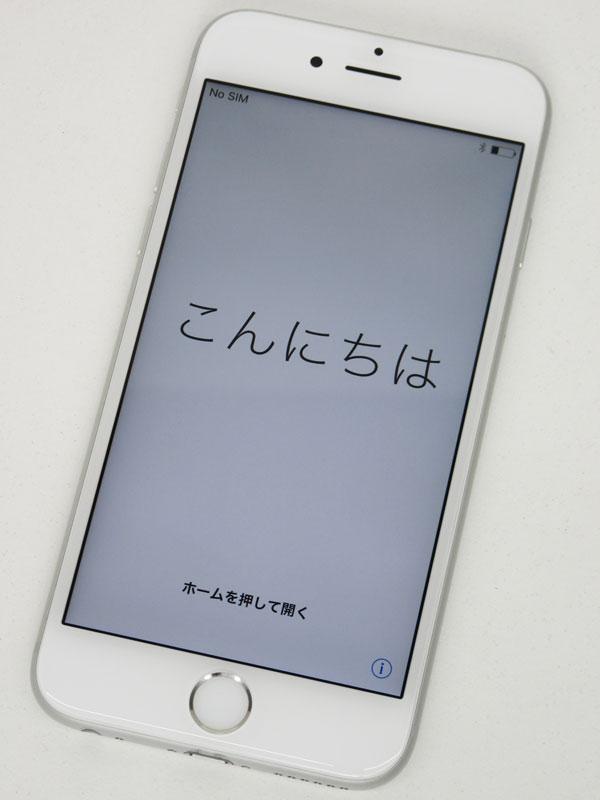 【Apple】アップル『iPhone 6s 64GB au』MKQP2J/A シルバー iOS10.3.1 4.7型 白ロム ○判定 スマートフォン【中古】