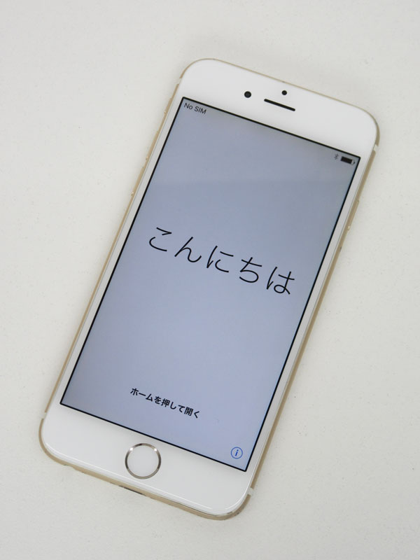 アップル『iPhone 6 64GB SoftBank』MG4J2J/A ゴールド 4.7型Retina 白ロム ○判定 スマートフォン【中古】