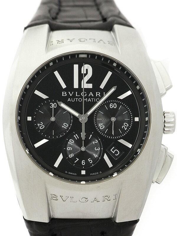 【BVLGARI】ブルガリ『エルゴン クロノグラフ』EG40SCH メンズ 自動巻き 6ヶ月保証【中古】