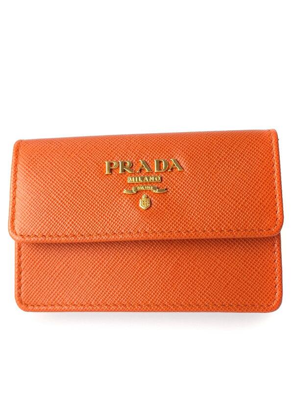 【PRADA】プラダ『カードケース』1M0881 ユニセックス 1週間保証【中古】