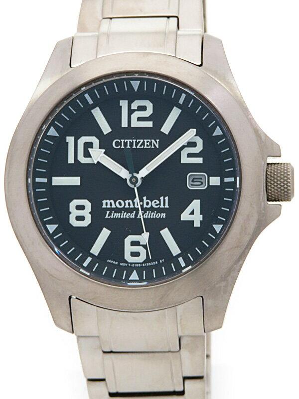 【CITIZEN】【mont・bell】シチズン『プロマスター  モンベルコラボモデル』BN0111-11E メンズ ソーラークォーツ 1週間保証【中古】