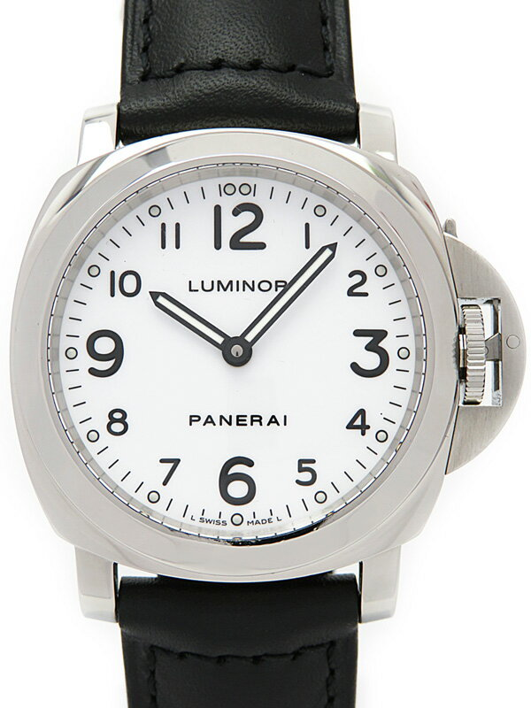 【PANERAI】【裏スケ】パネライ『ルミノールベース 44mm』PAM00114 N番'11年製 メンズ 手巻き 6ヶ月保証【中古】